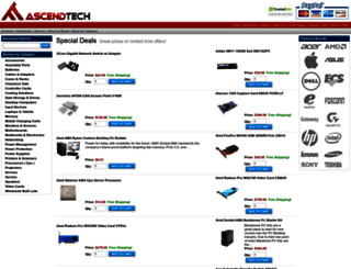 ascendtech.us screenshot
