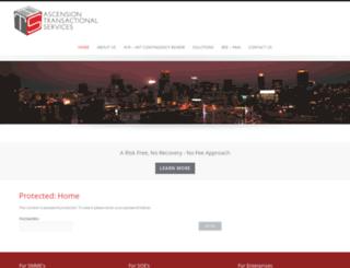 ascensiontransact.com screenshot