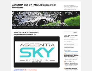 ascentiaskytanglinsingapore.wordpress.com screenshot
