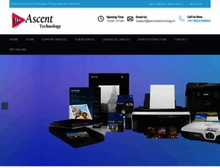 ascenttechnology.in screenshot
