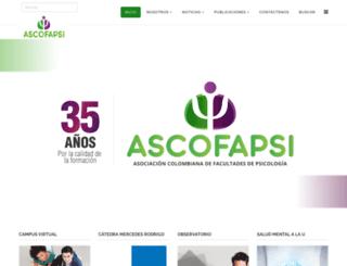 ascofapsi.org.co screenshot