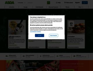 asda.com screenshot