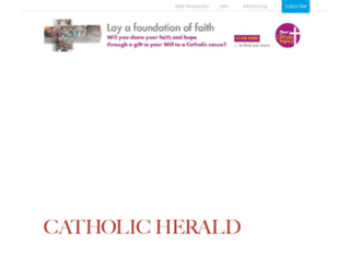 asdf.catholicherald.co.uk screenshot