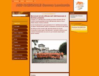 asdnazionale.webnode.it screenshot
