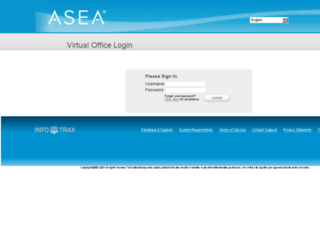 asea.myvoffice.com screenshot