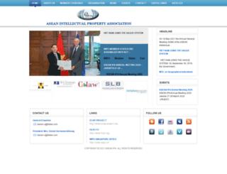 aseanipa.org screenshot