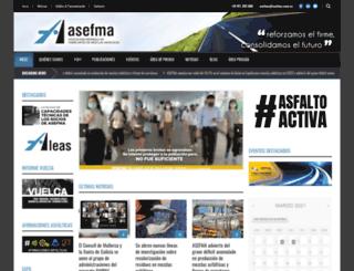 asefma.com.es screenshot