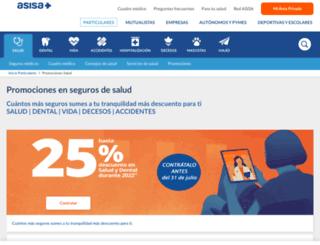 asegurateconasisa.com screenshot