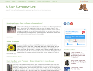 aselfsufficientlife.com screenshot