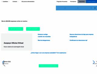 asepeyo.es screenshot