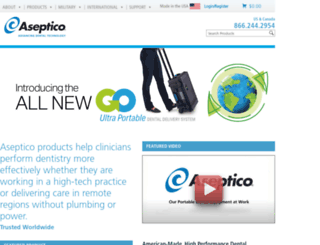 aseptico.com screenshot