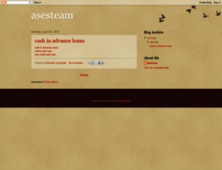 asesteam.blogspot.com screenshot