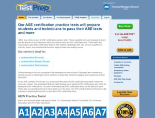asetestprep.com screenshot