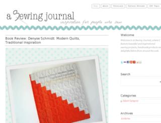 asewingjournal.squarespace.com screenshot