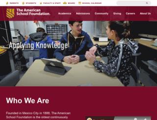 asf.edu.mx screenshot