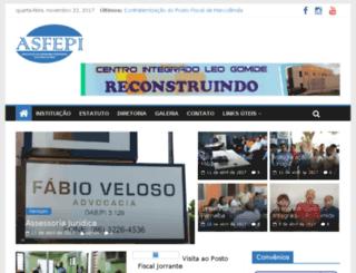 asfepi.com.br screenshot