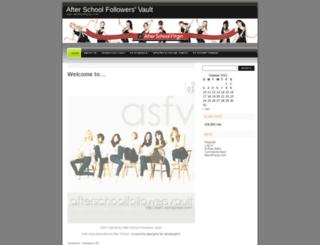 asfv.wordpress.com screenshot