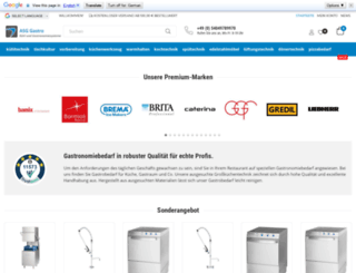 asg-gastro.de screenshot