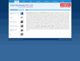 ashaelectronics.com screenshot