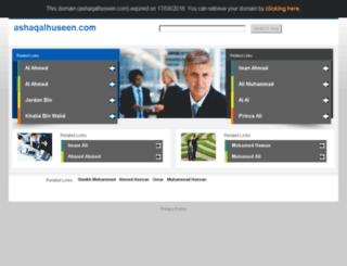ashaqalhuseen.com screenshot