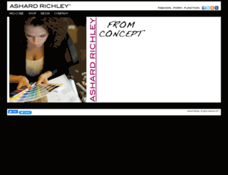 ashardrichley.com screenshot