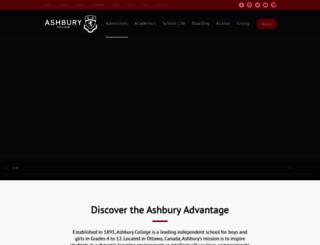 ashbury.ca screenshot