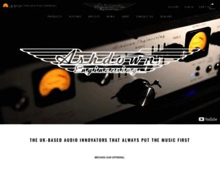 ashdownmusic.co.uk screenshot