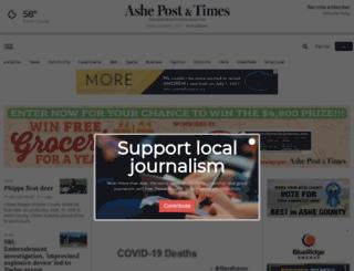 ashemountaintimes.com screenshot