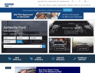 ashevilleford.com screenshot