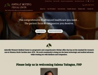 ashevillewomens.com screenshot