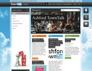 ashford.towntalk.co.uk screenshot