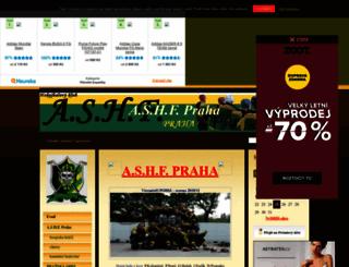 ashfpraha.banda.cz screenshot