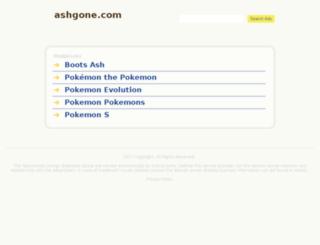 ashgone.com screenshot