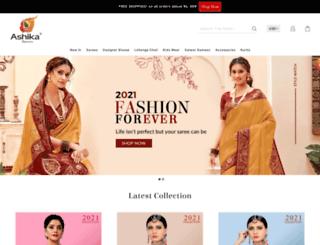 ashika.com screenshot