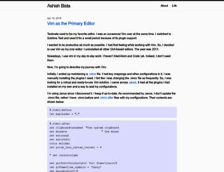 ashishbista.com.np screenshot