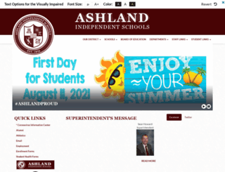 ashland.k12.ky.us screenshot