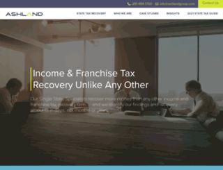 ashlandgroup.com screenshot