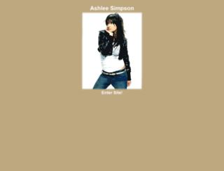 ashleesimpsonweb.yaia.com screenshot