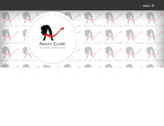 ashley-claire.com screenshot