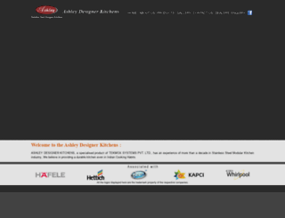 ashleykitchens.net screenshot