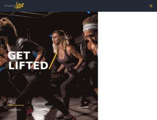 ashleylanefitness.com screenshot