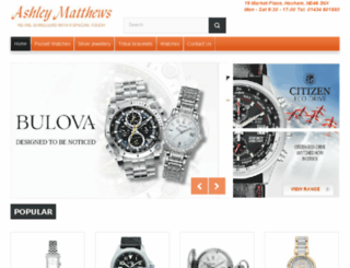 ashleymatthewsjewellers.com screenshot