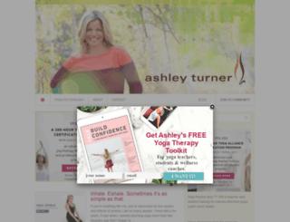 ashleyturner.org screenshot