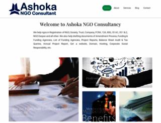 ashokaconsultant.com screenshot