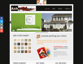 ashpaintinginc.com screenshot