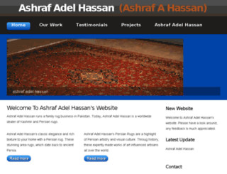 ashrafadelhassan.org screenshot