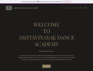 ashtavinayakdanceacademy.com screenshot