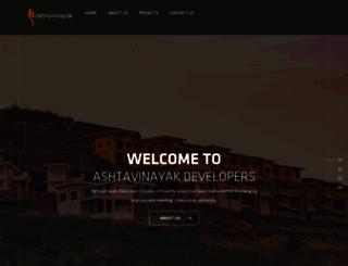 ashtavinayakdevelopers.com screenshot