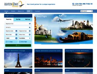 ashtondavetravels.com screenshot