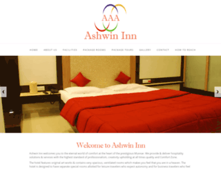 ashwininn.com screenshot